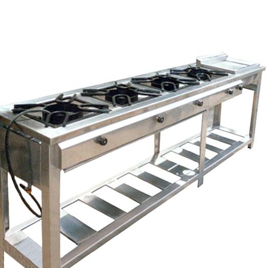 Cocina 6 platos 2 hornos con plancha maigas cocinas for Cocina 02 hornillas
